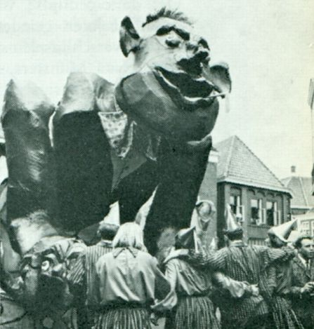 Carnaval in Oldenzaal 1967